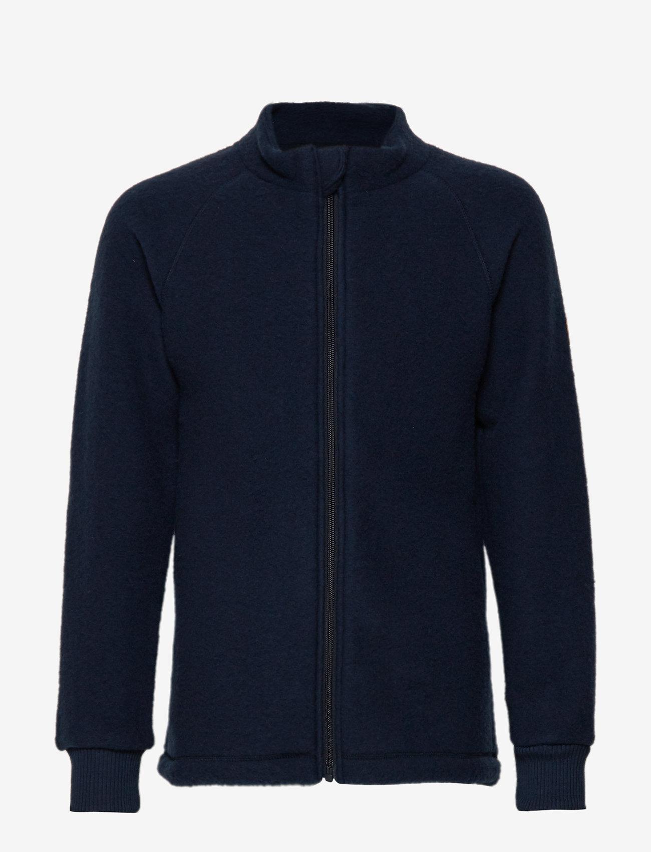 Mikk-Line - WOOL jacket - uldtøj - 287/bluenights - 0