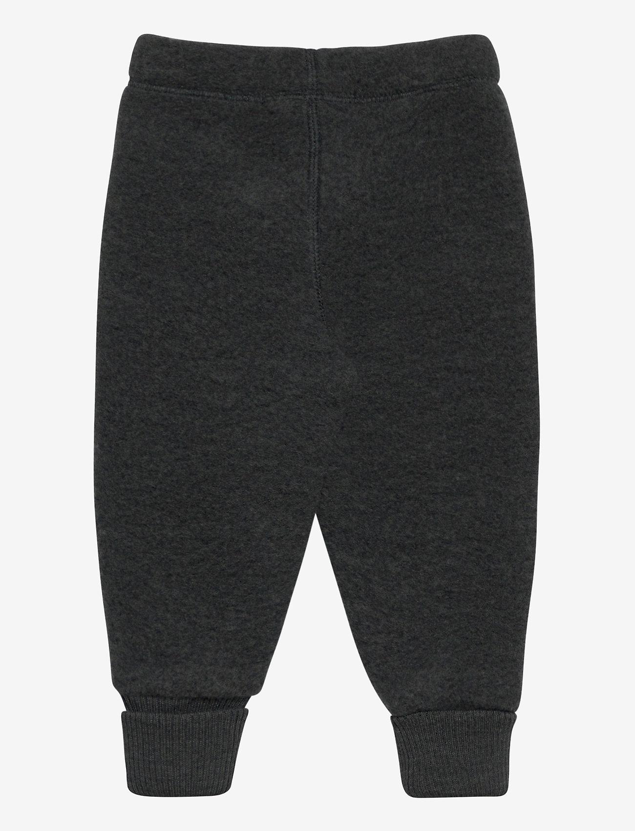 Mikk-Line - WOOL Pants - bukser - anthracite melange - 1