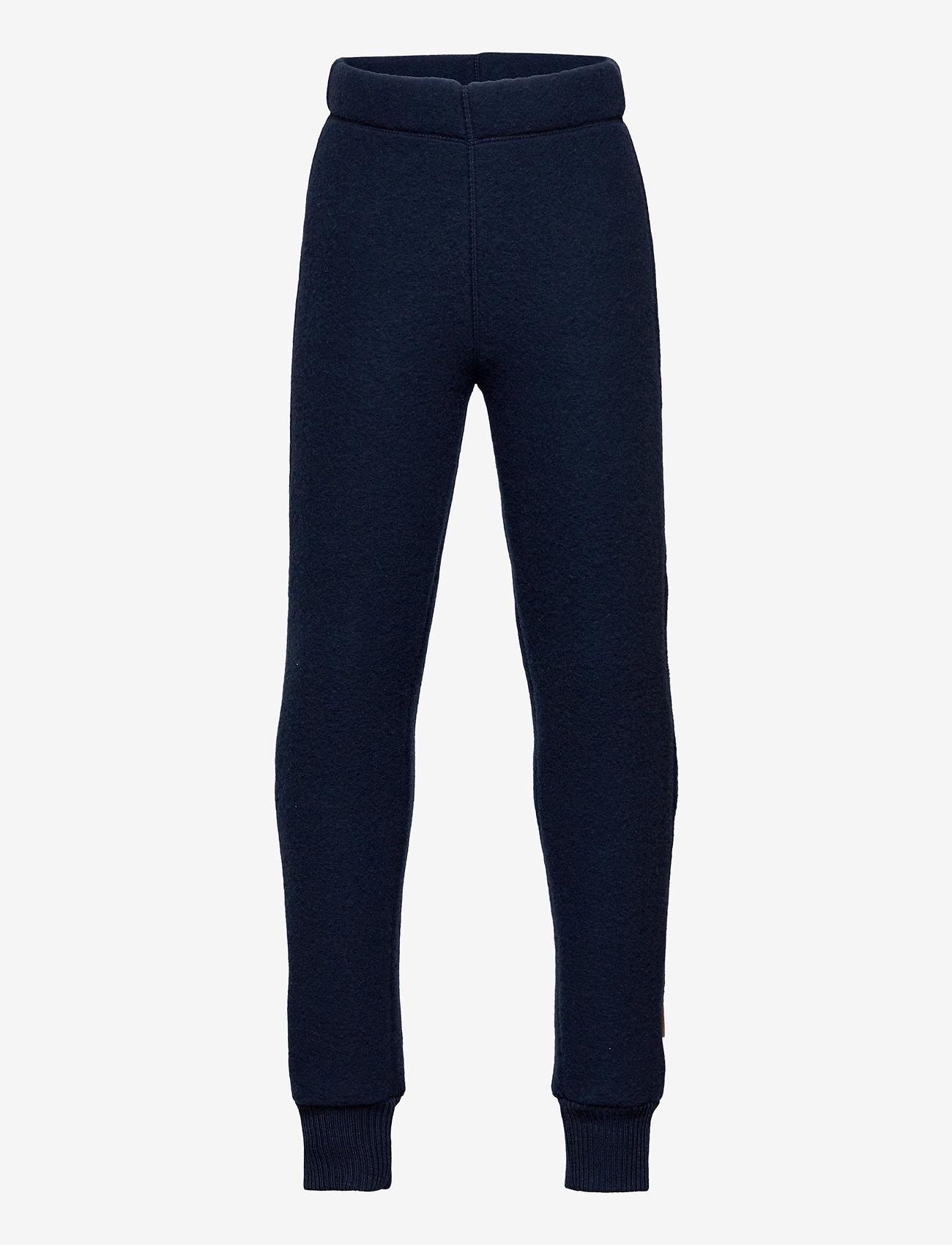 Mikk-Line - WOOL Pants - trousers - blue nights - 0
