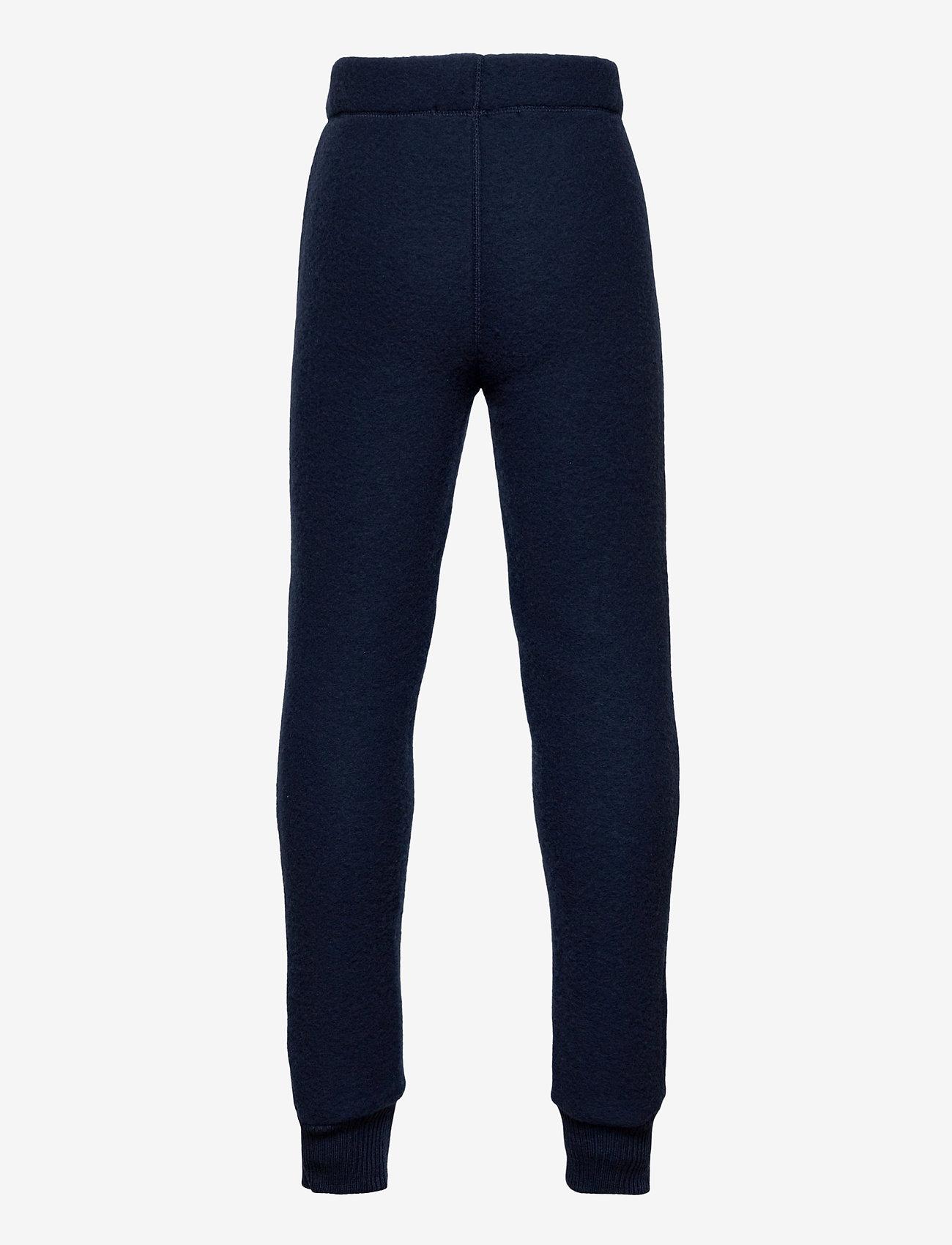 Mikk-Line - WOOL Pants - trousers - blue nights - 1