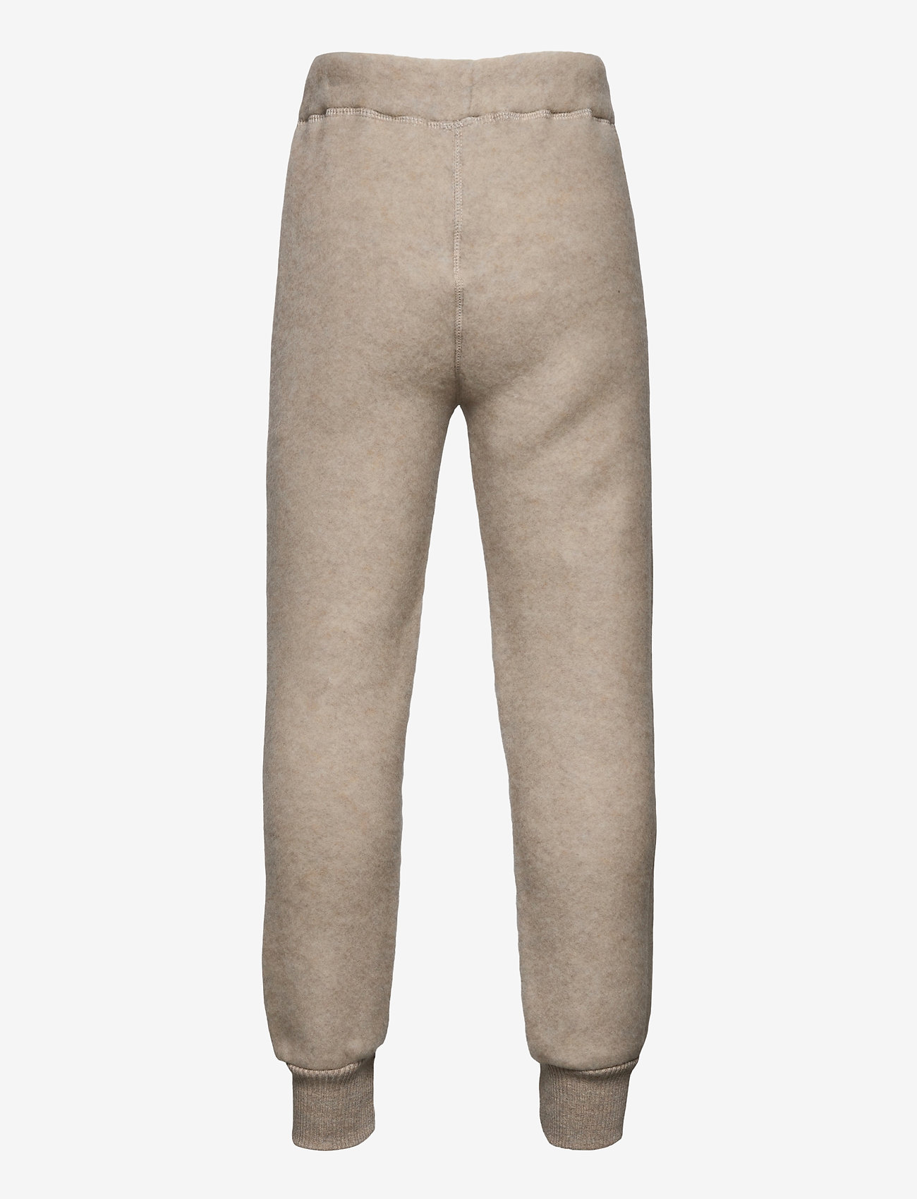 Mikk-Line - WOOL Pants - trousers - melange offwhite - 1