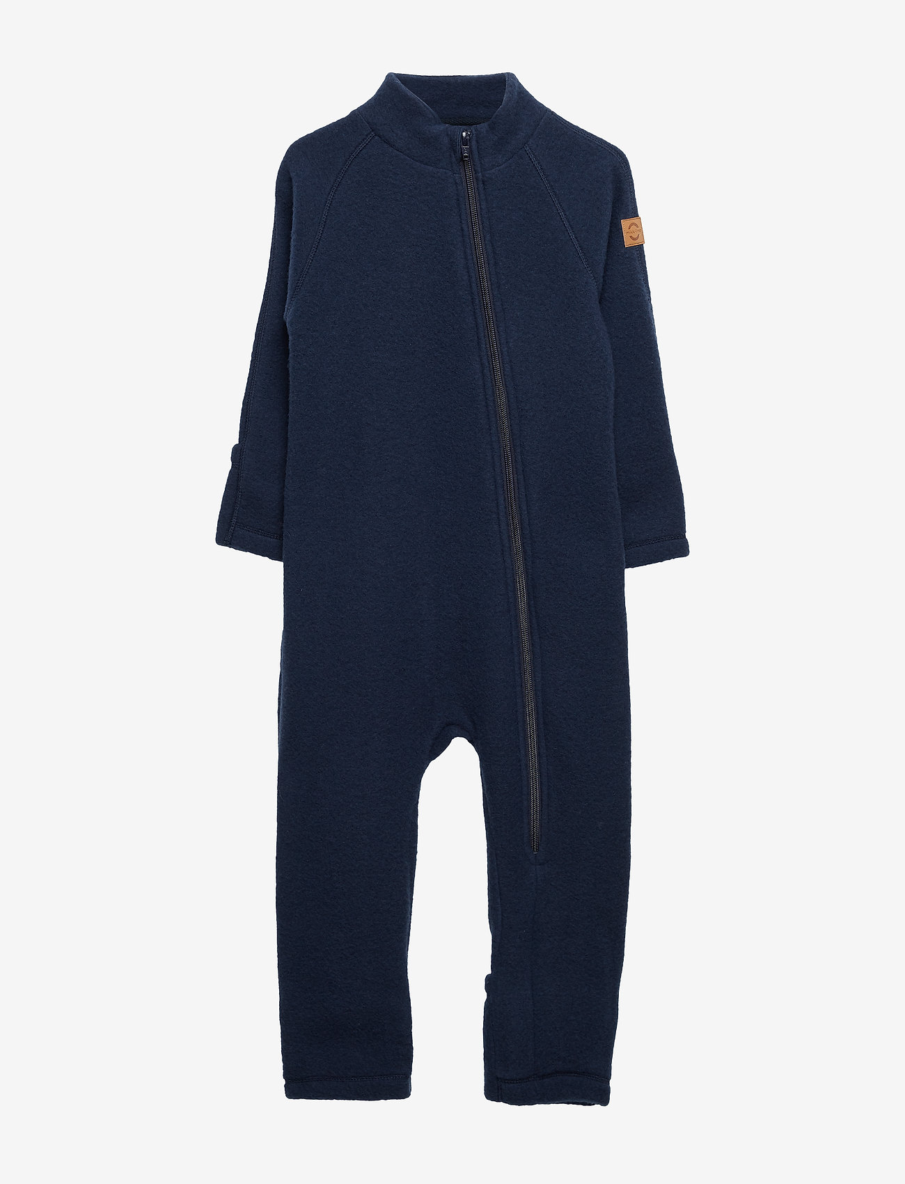 Mikk-Line - Wool Baby Suit - basislag - blue nights - 0