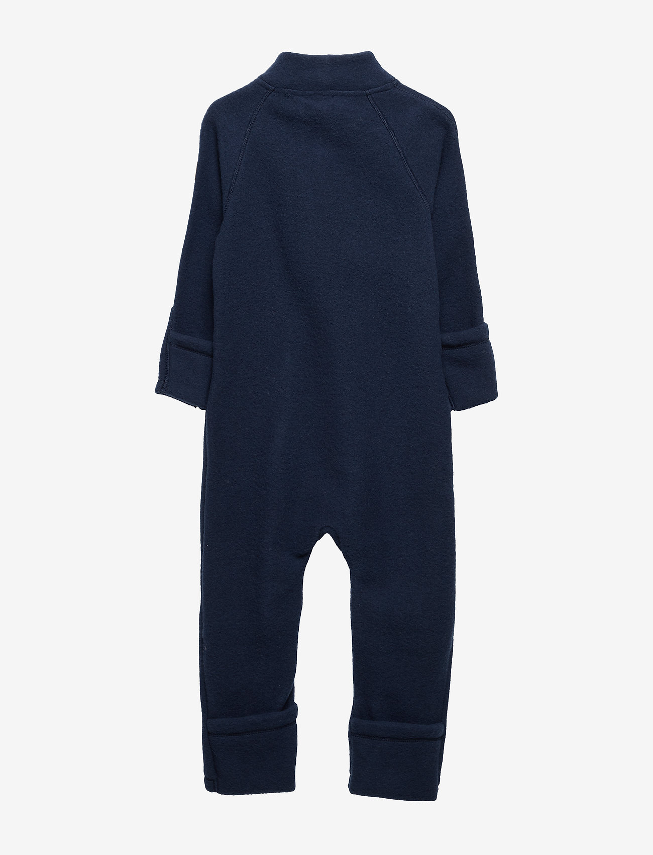 Mikk-Line - Wool Baby Suit - basislag - blue nights - 1