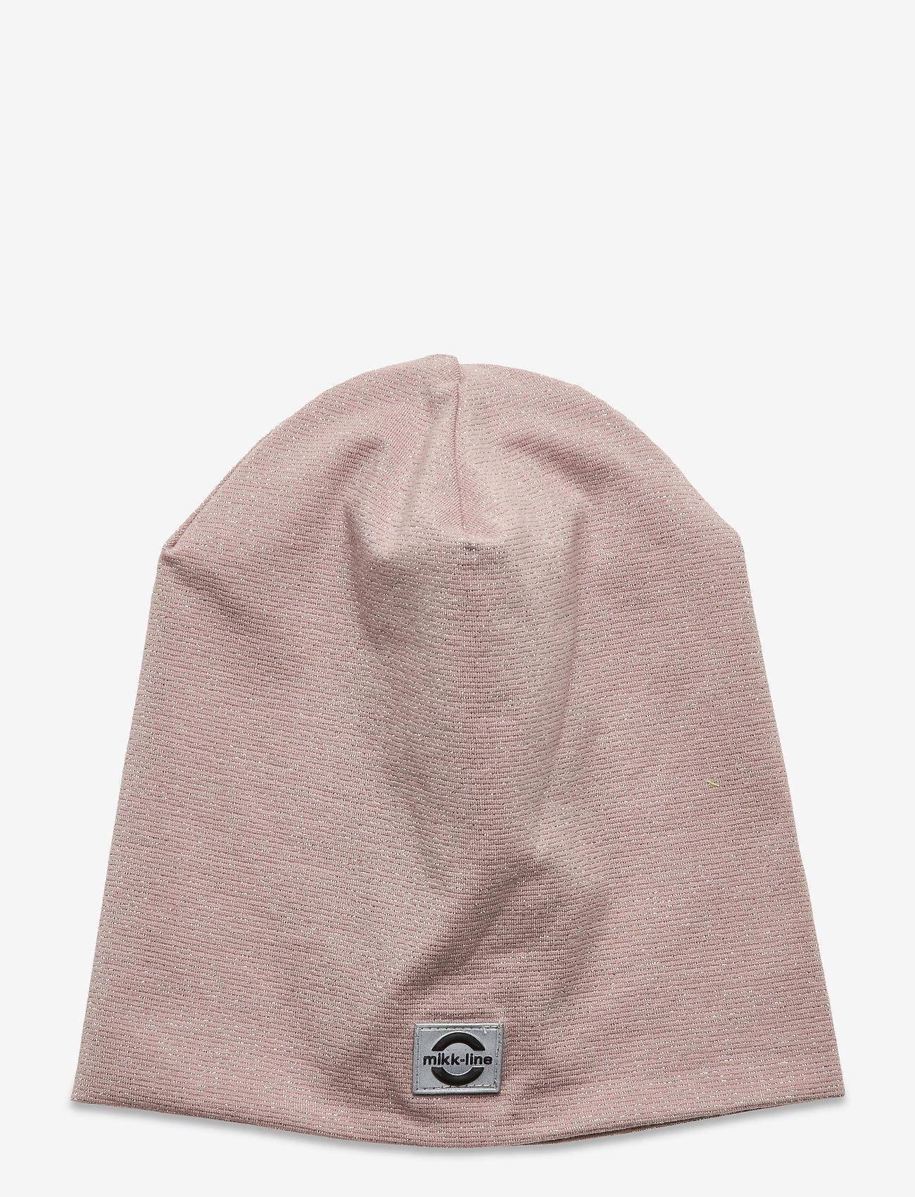 Mikk-Line - Cotton Lurex Hat - huer - adobe rose - 0