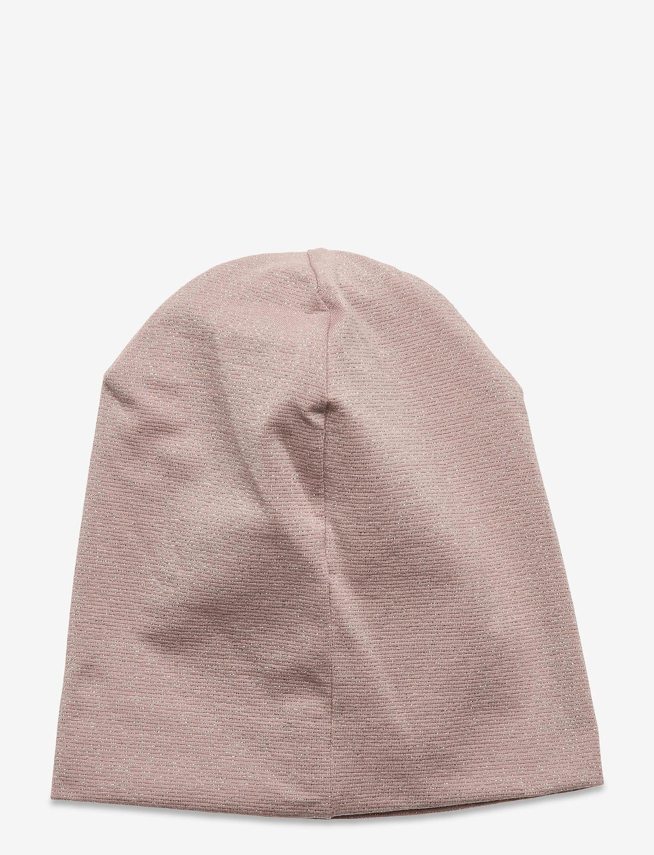 Mikk-Line - Cotton Lurex Hat - huer - adobe rose - 1