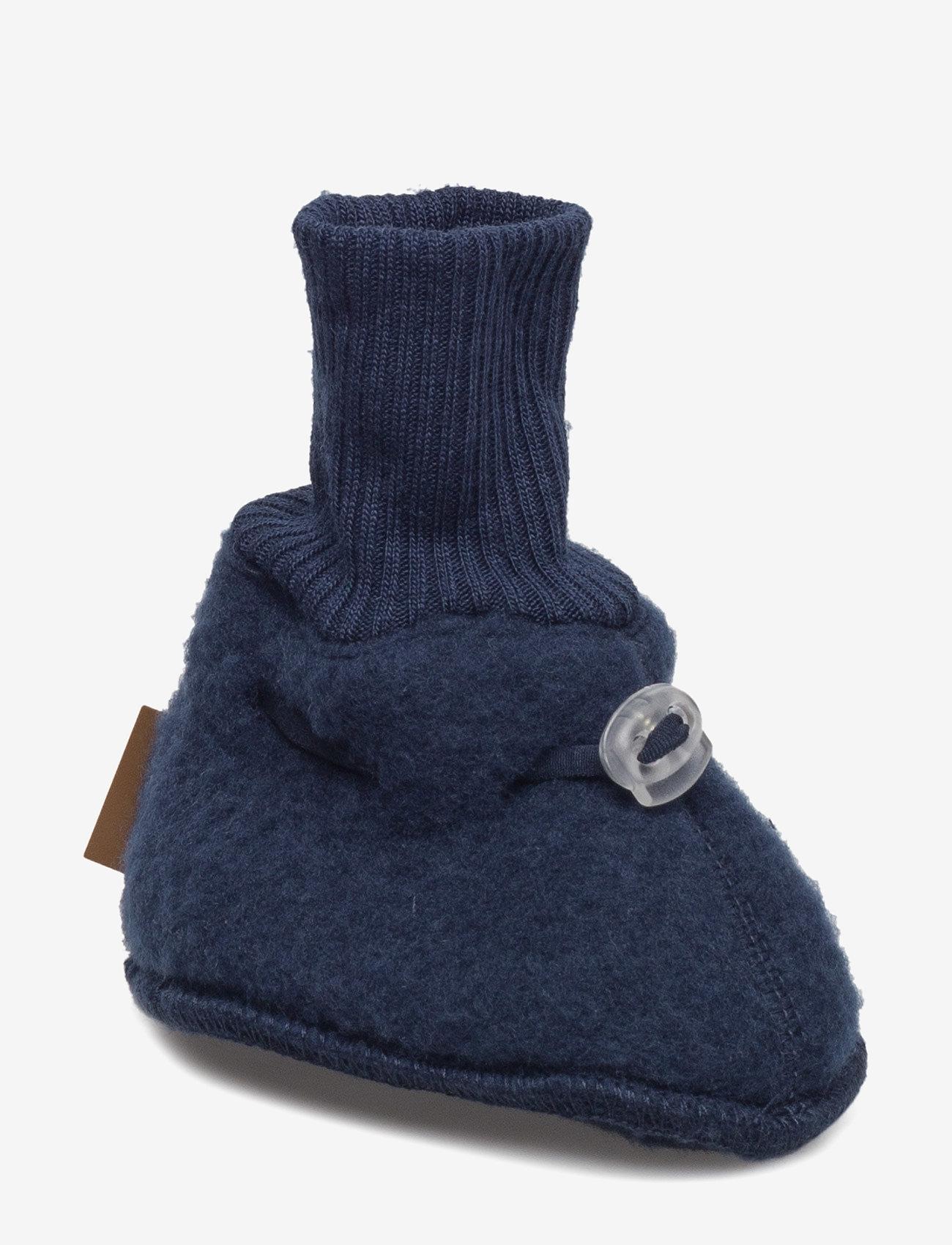 Mikk-Line - Wool Footies - schuhe - 287/bluenights - 0