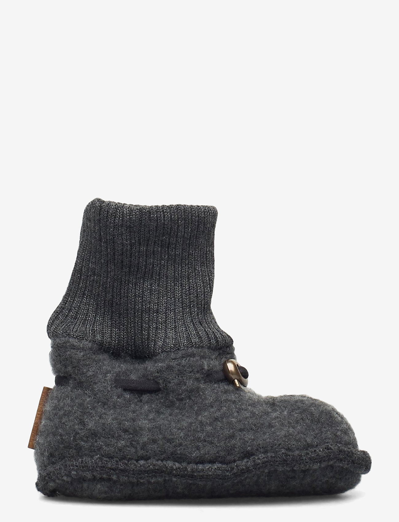 Mikk-Line - Wool Footies - hausschuhe - anthracite melange - 1