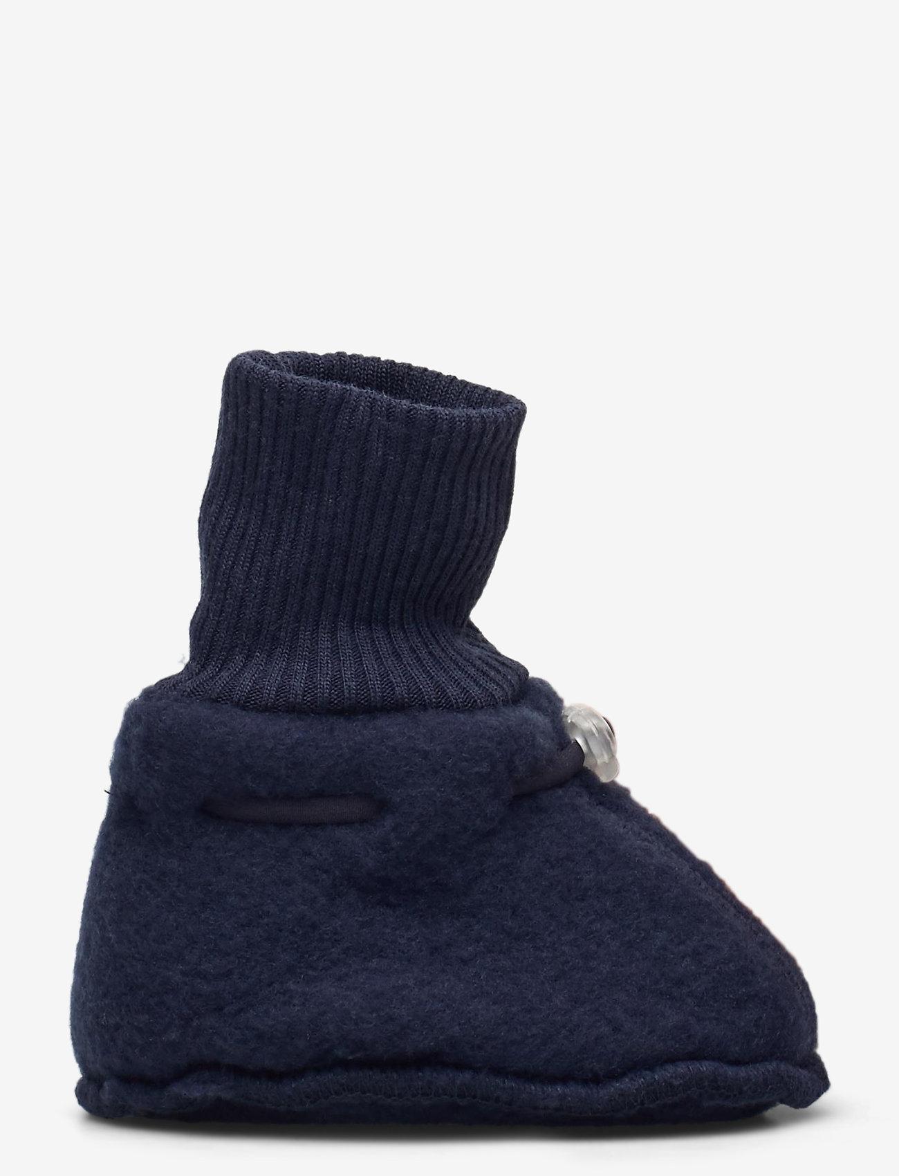 Mikk-Line - Wool Footies - hausschuhe - blue nights - 1