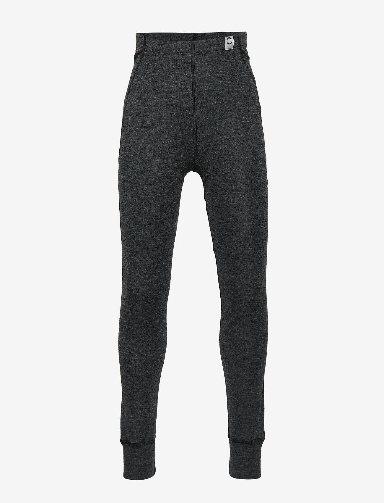 Mikk-Line - WOOL pants - leggings - lancaster grey mel - 0