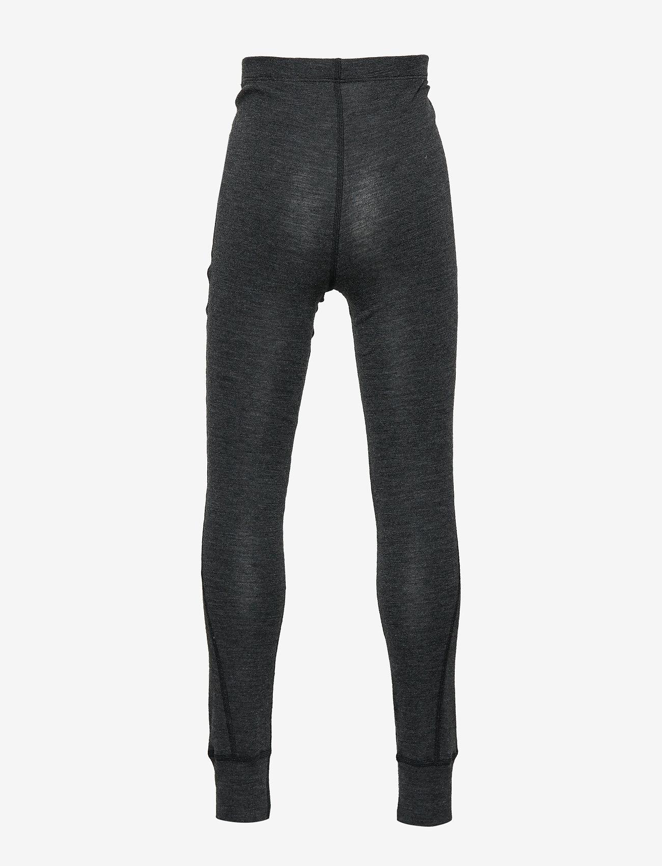 Mikk-Line - WOOL pants - leggings - lancaster grey mel - 1