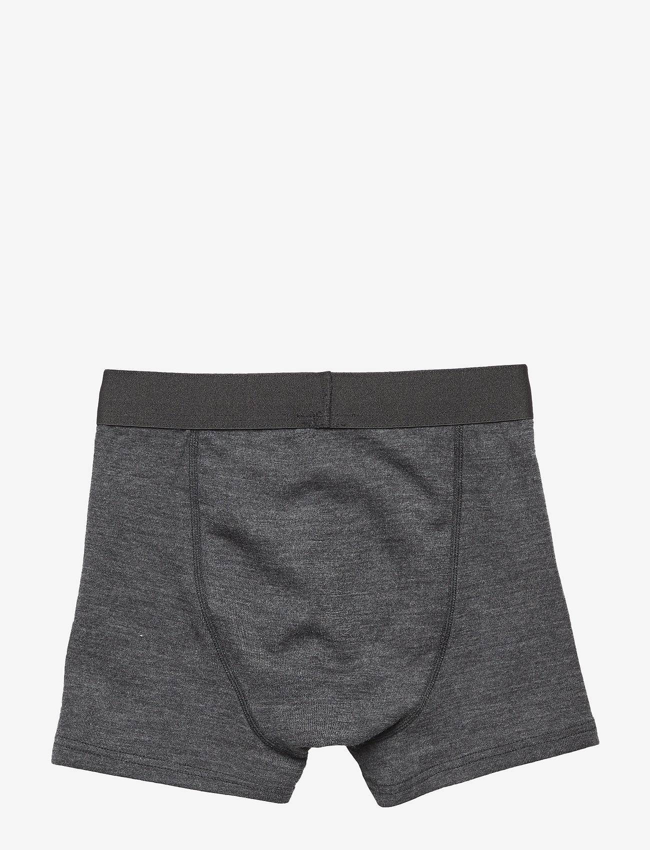 Mikk-Line - WOOL Shorts Boys - doły - lancaster grey mel - 1
