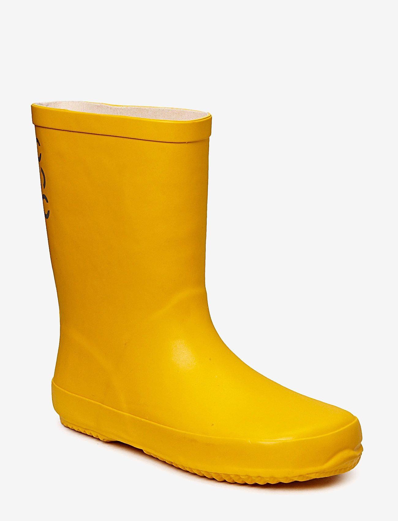Mikk-Line - Wellies - Solid - gummistøvler uten linjer - sunflower - 0