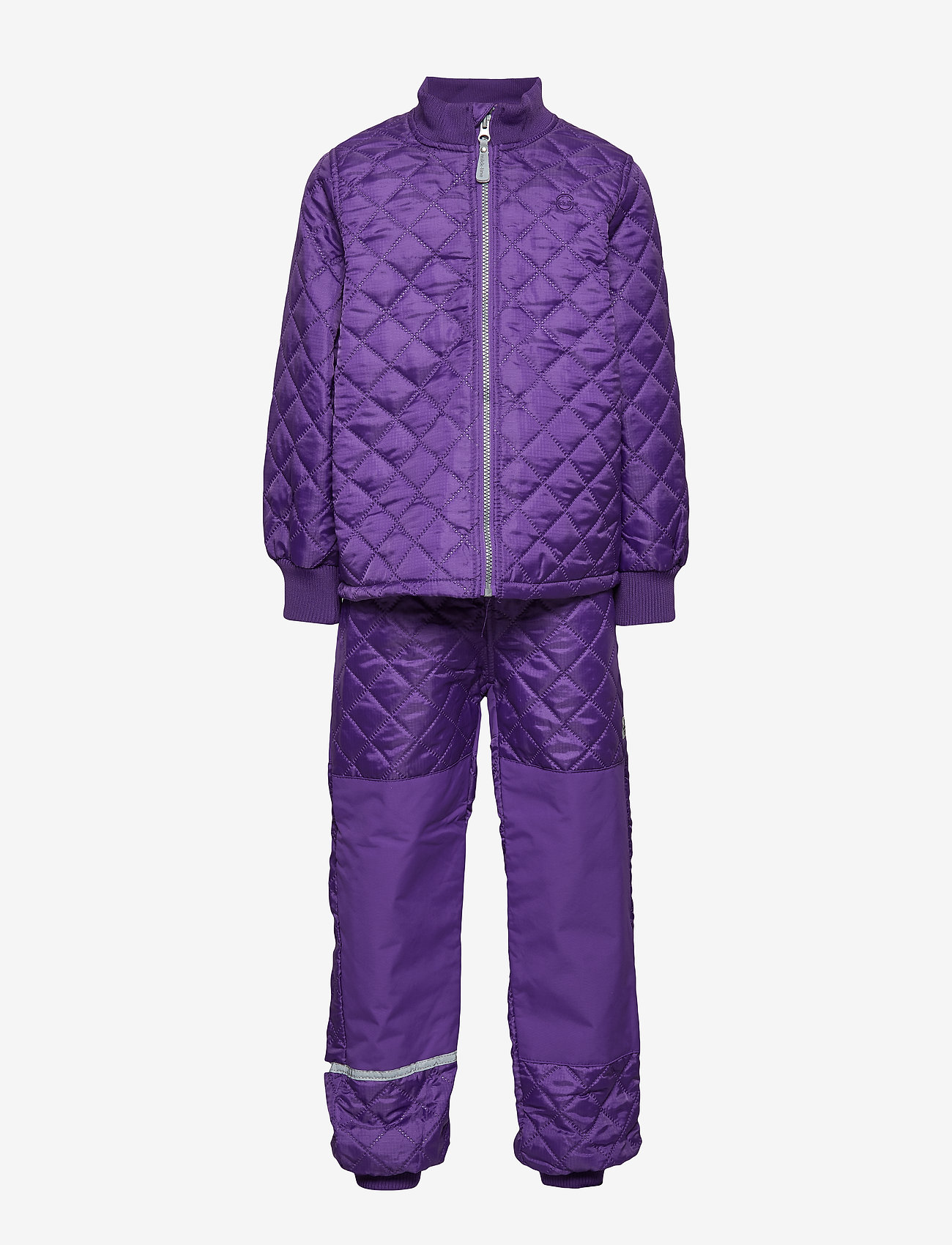 Mikk-Line - THERMO Set - No Fleece - thermo - 741/dark violet (reddish)
