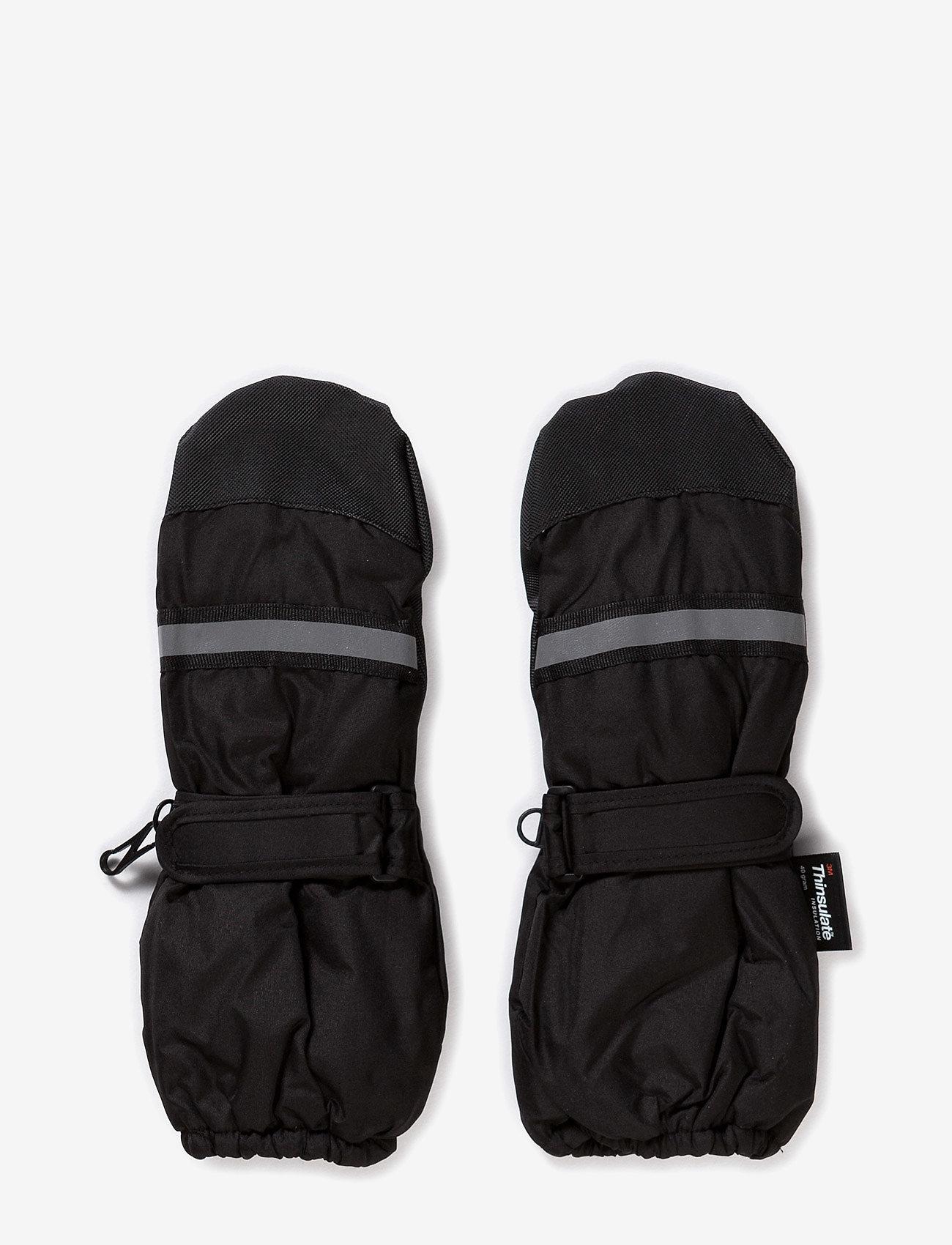 Mikk-Line - THINSULATE Mittens - cimdi - black - 0