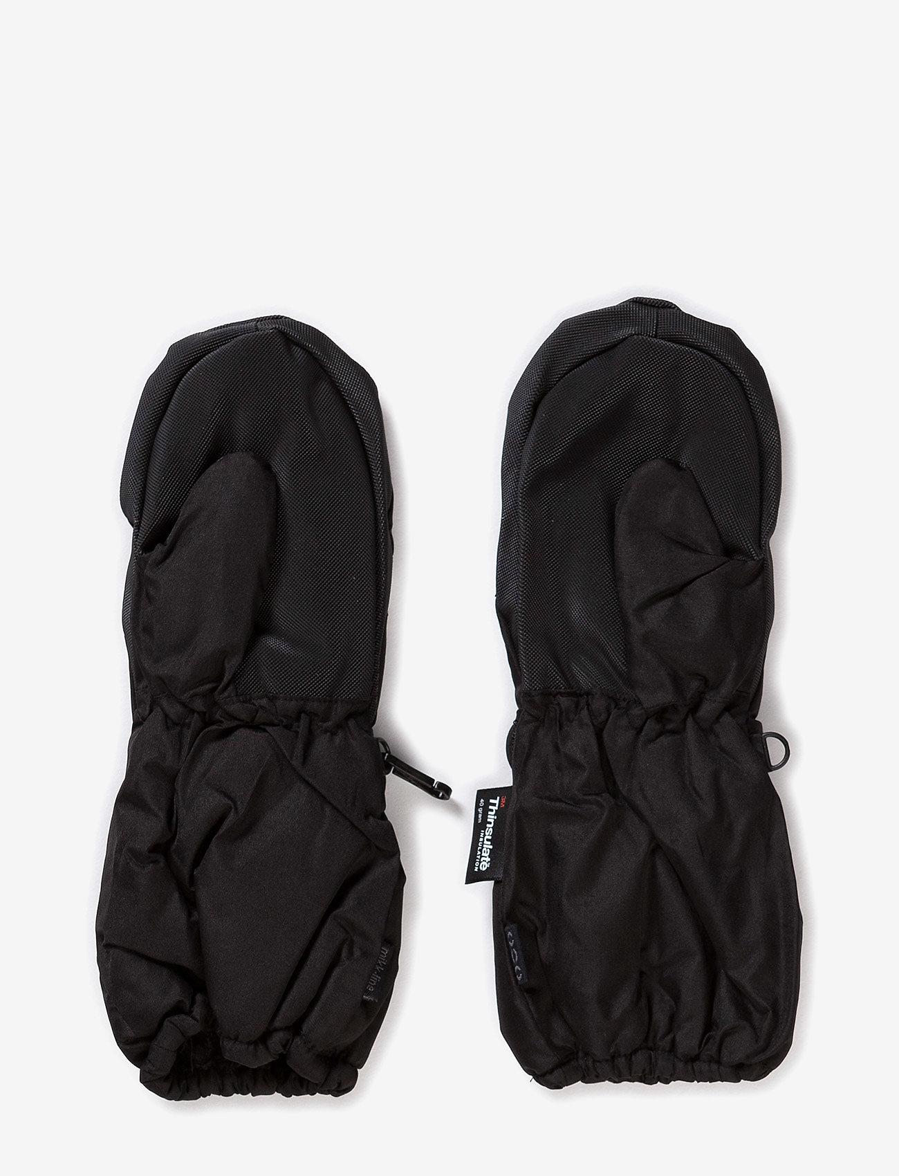 Mikk-Line - THINSULATE Mittens - cimdi - black - 1