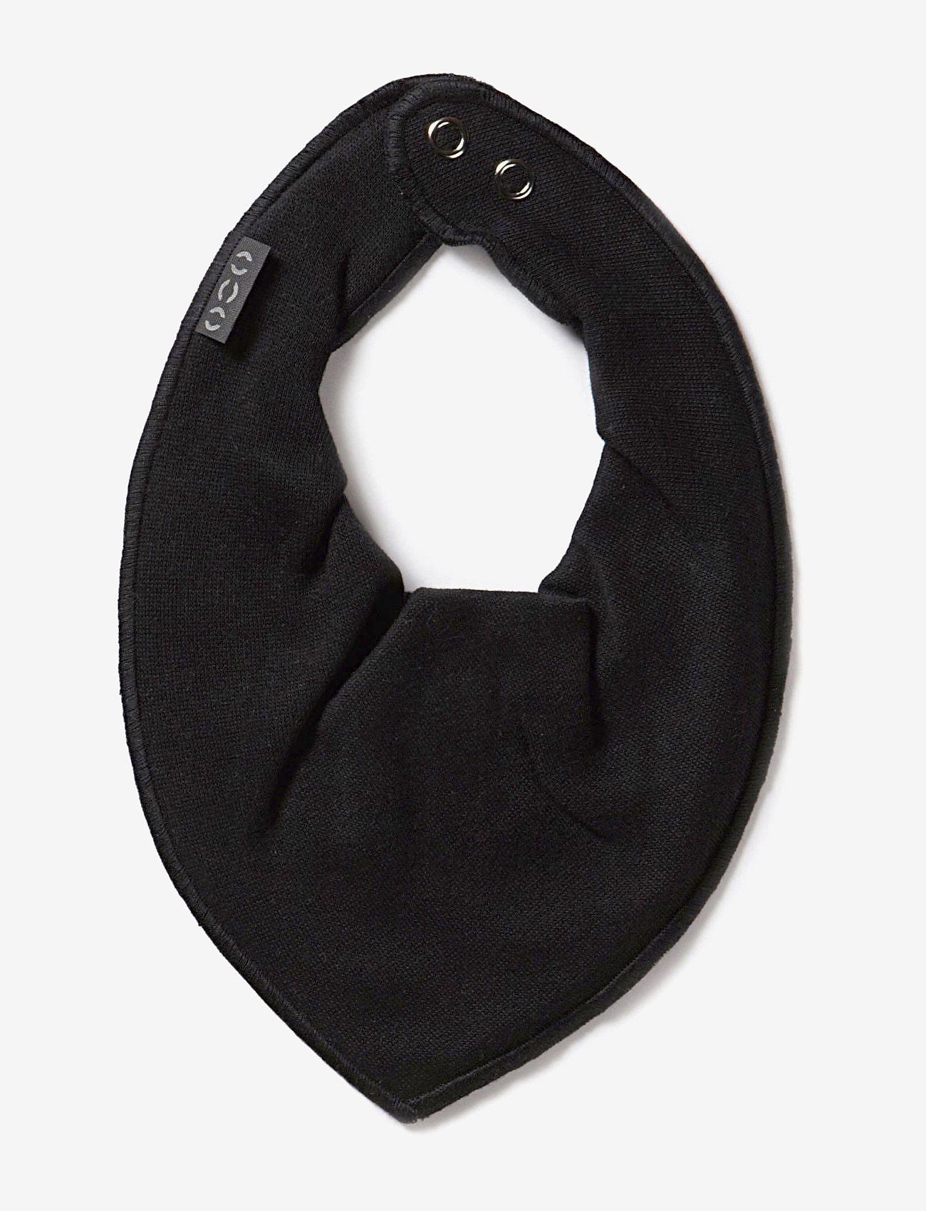 Mikk-Line - Cotton Bibs - Triangle - hagesmæk - 190/black - 0