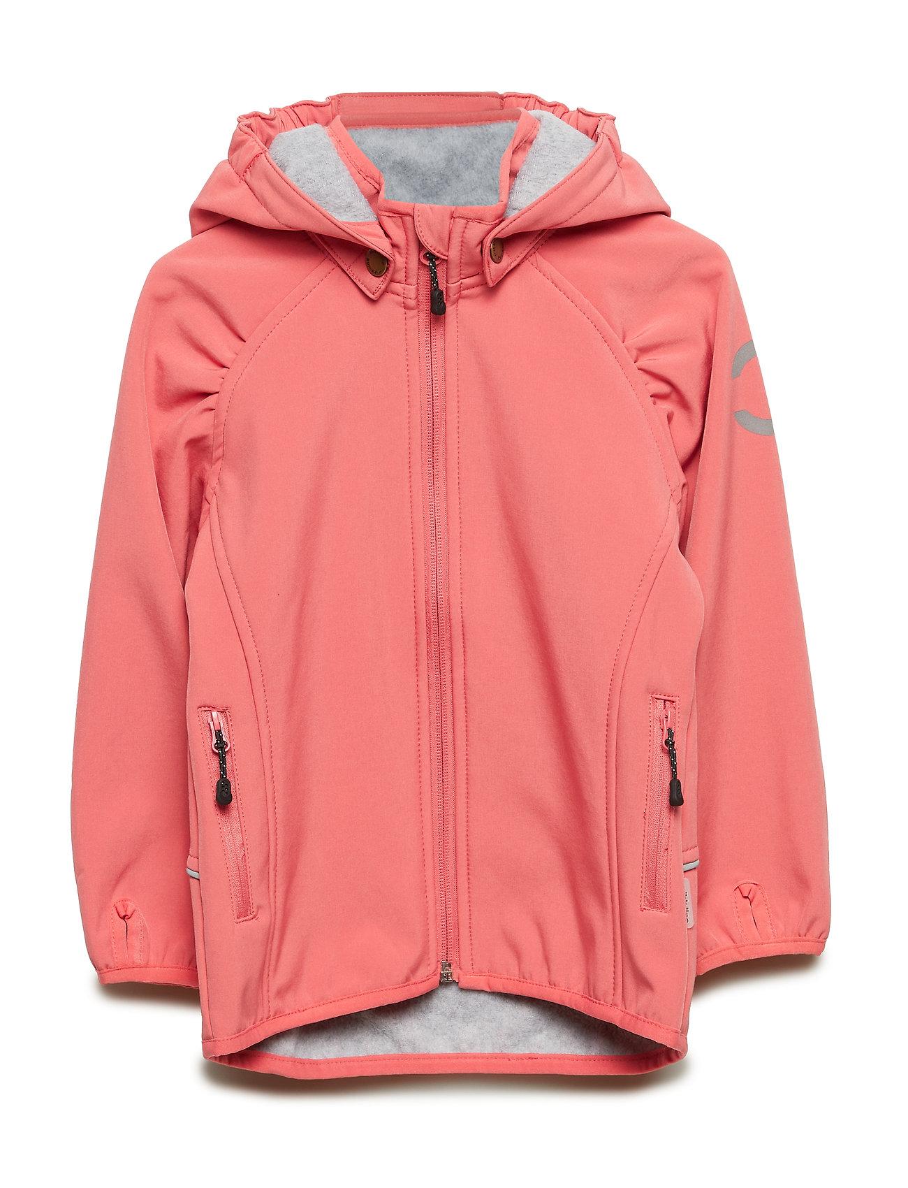 Mikk-Line SOFTSHELL Girls Jacket - TEA ROSE