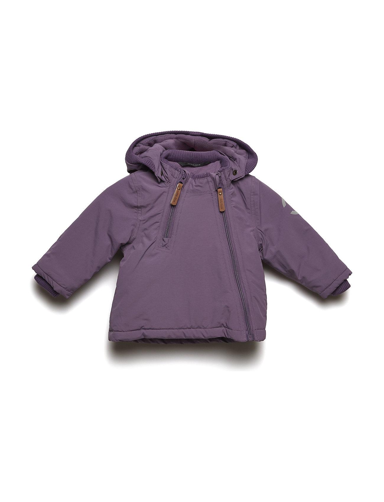18a0062c Nylon Baby Jacket - Solid til i CHINA BLUE - Pashion.dk