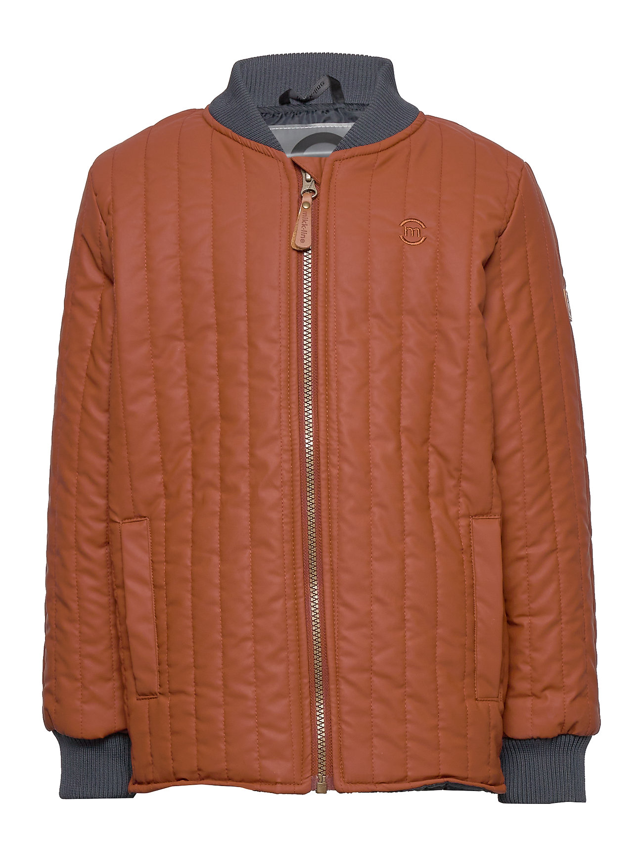 Image of Duvet Boys Jacket Outerwear Thermo Outerwear Thermo Jackets Orange Mikk-Line (3406311243)