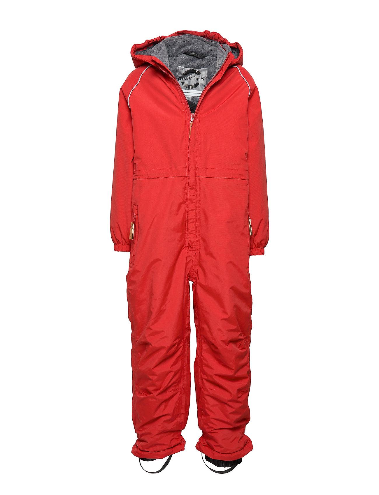 Mikk-Line Nylon Junior Suit Solid - POMPEIAN RED