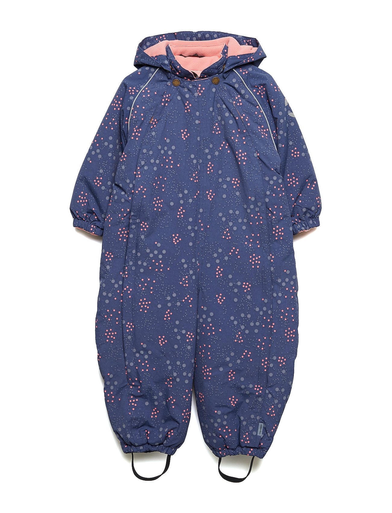 Mikk-Line Nylon Baby AOP Suit - CROWN BLUE