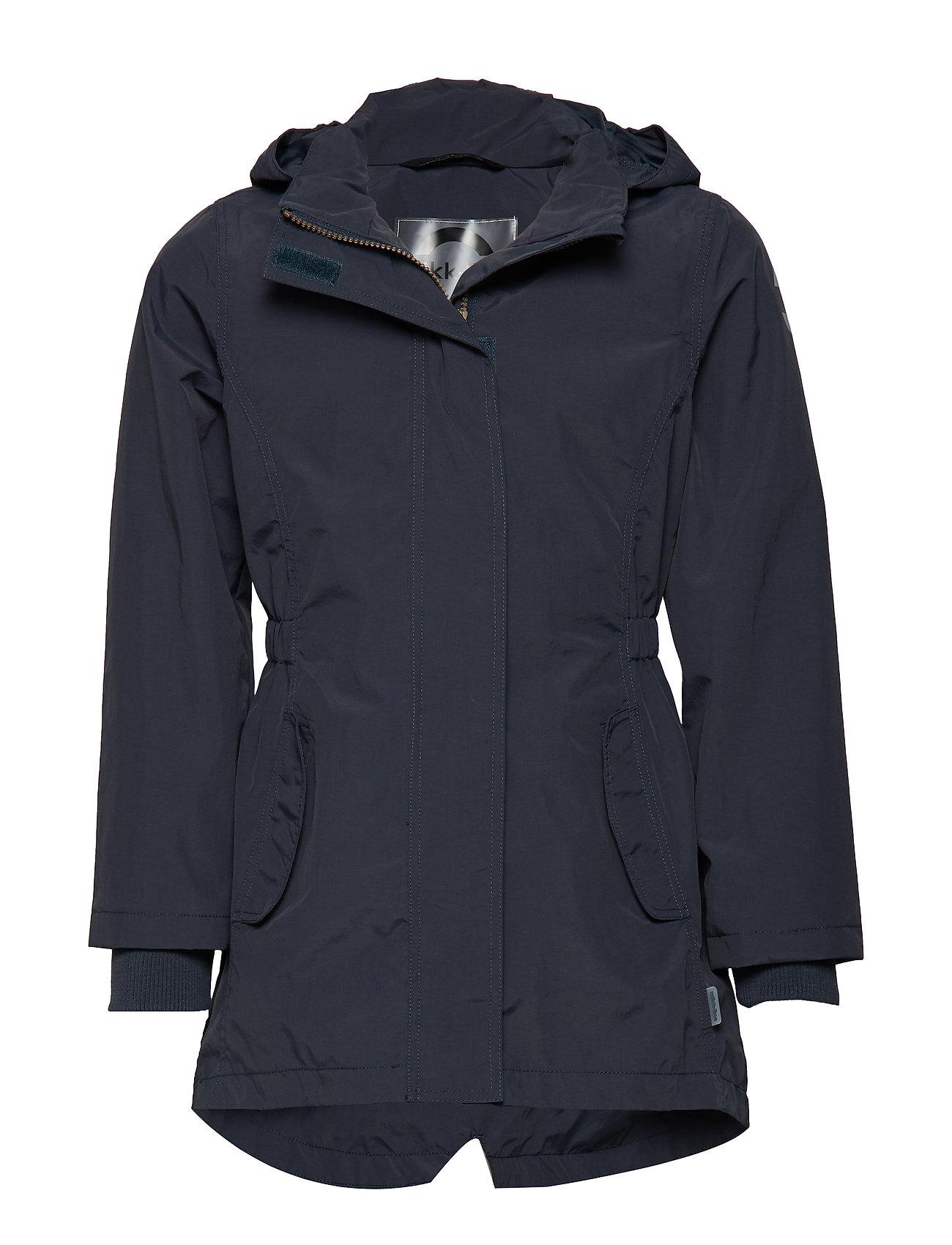 Mikk-Line Nylon girl summer coat - BLUE NIGHTS