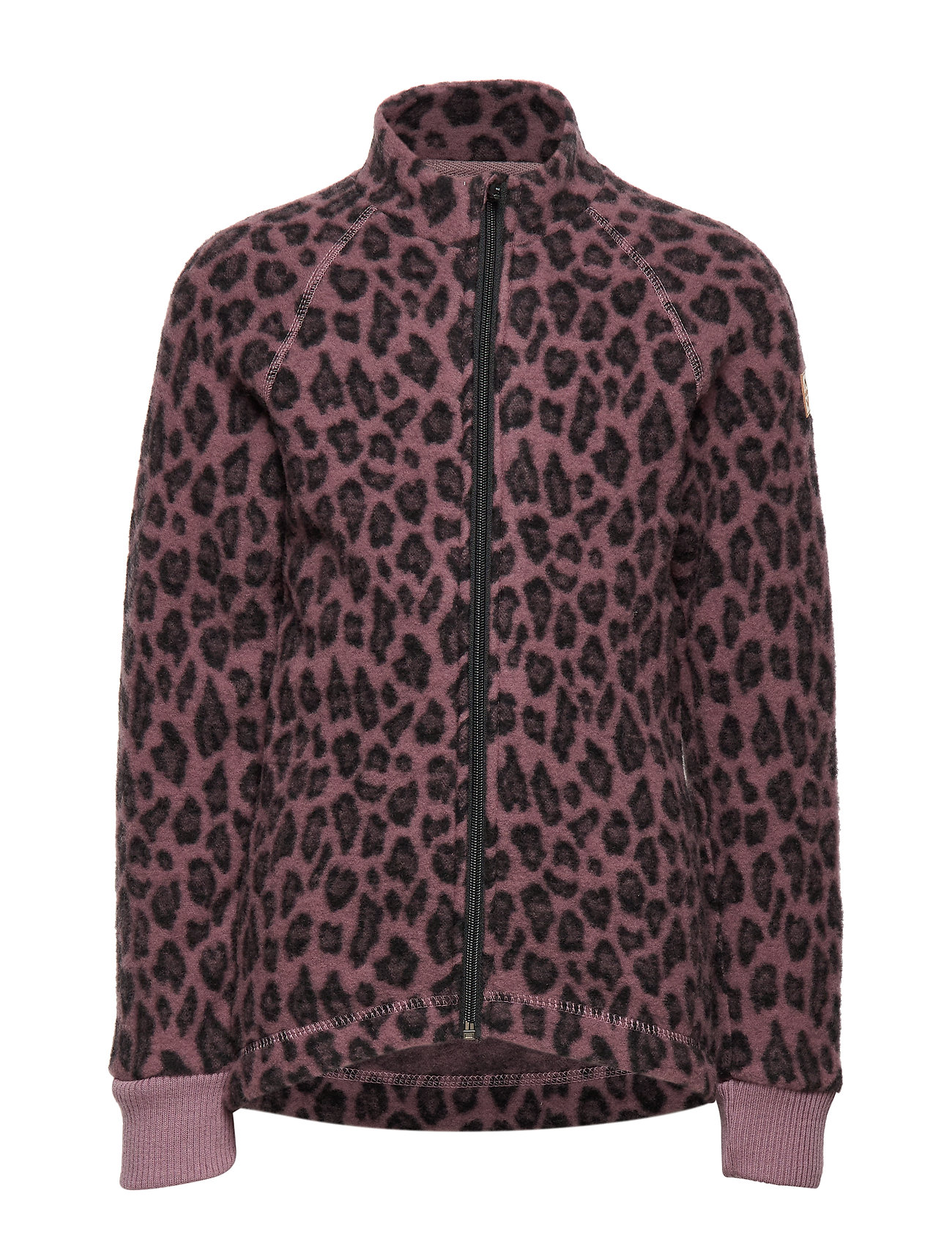 Mikk-Line WOOL Jacquard Jacket - ROSE TAUPE