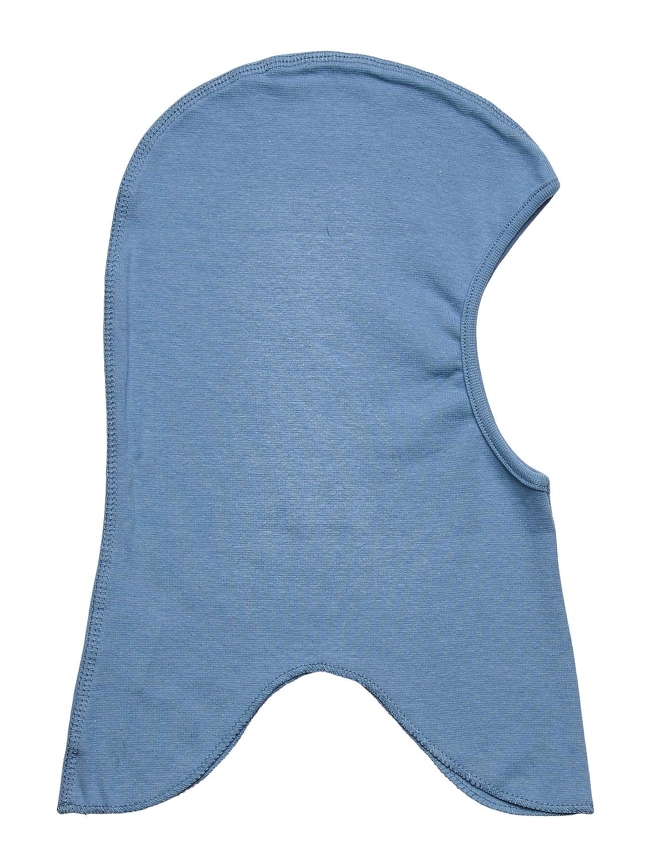 Image of Cotton Fullface - Solid Accessories Headwear Balaclava Blå Mikk-Line (3406311215)