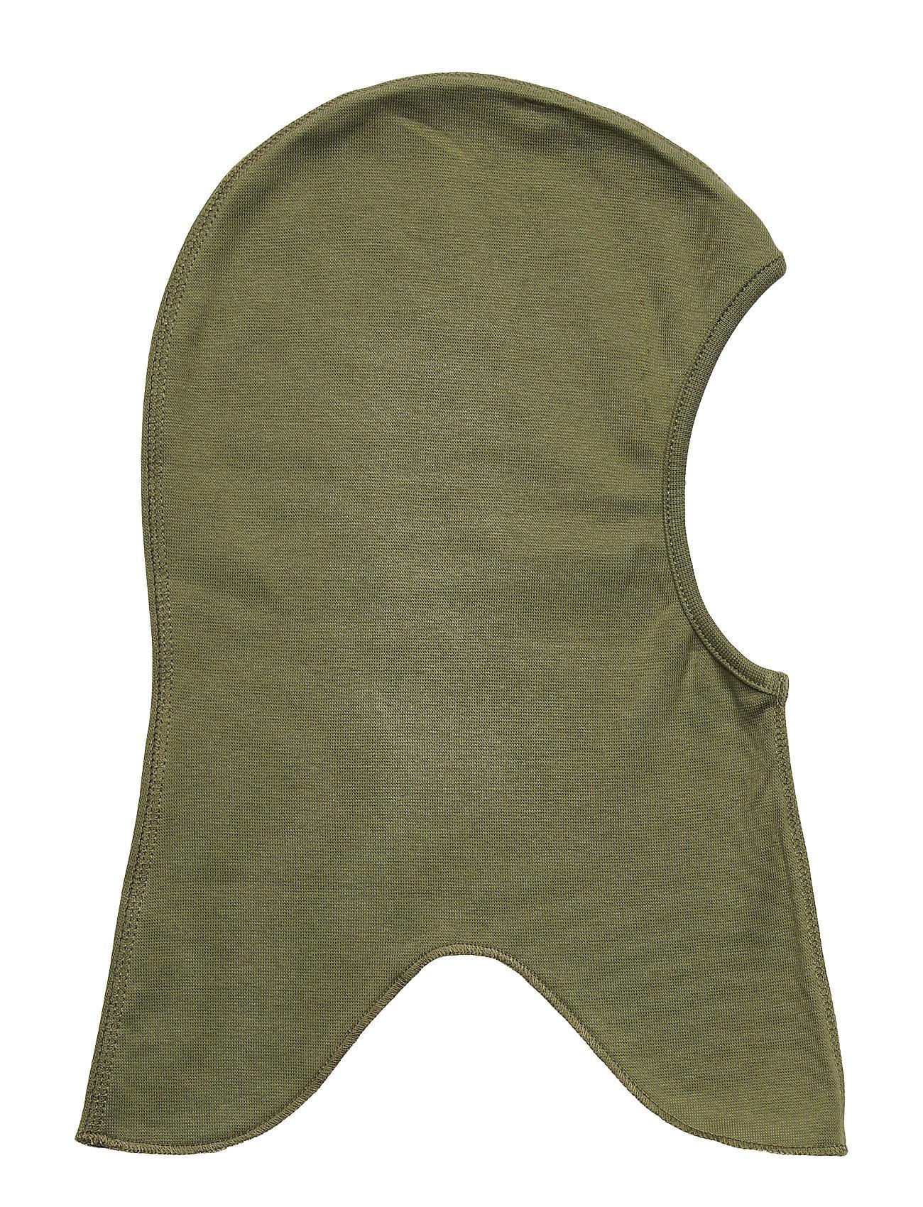 Image of Cotton Fullface - Solid Accessories Headwear Balaclava Grøn Mikk-Line (3406311213)