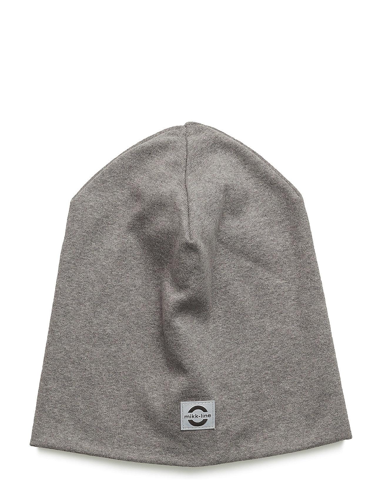 Image of Cotton Hat - Solid Hue Grå MIKK-LINE (2447293149)