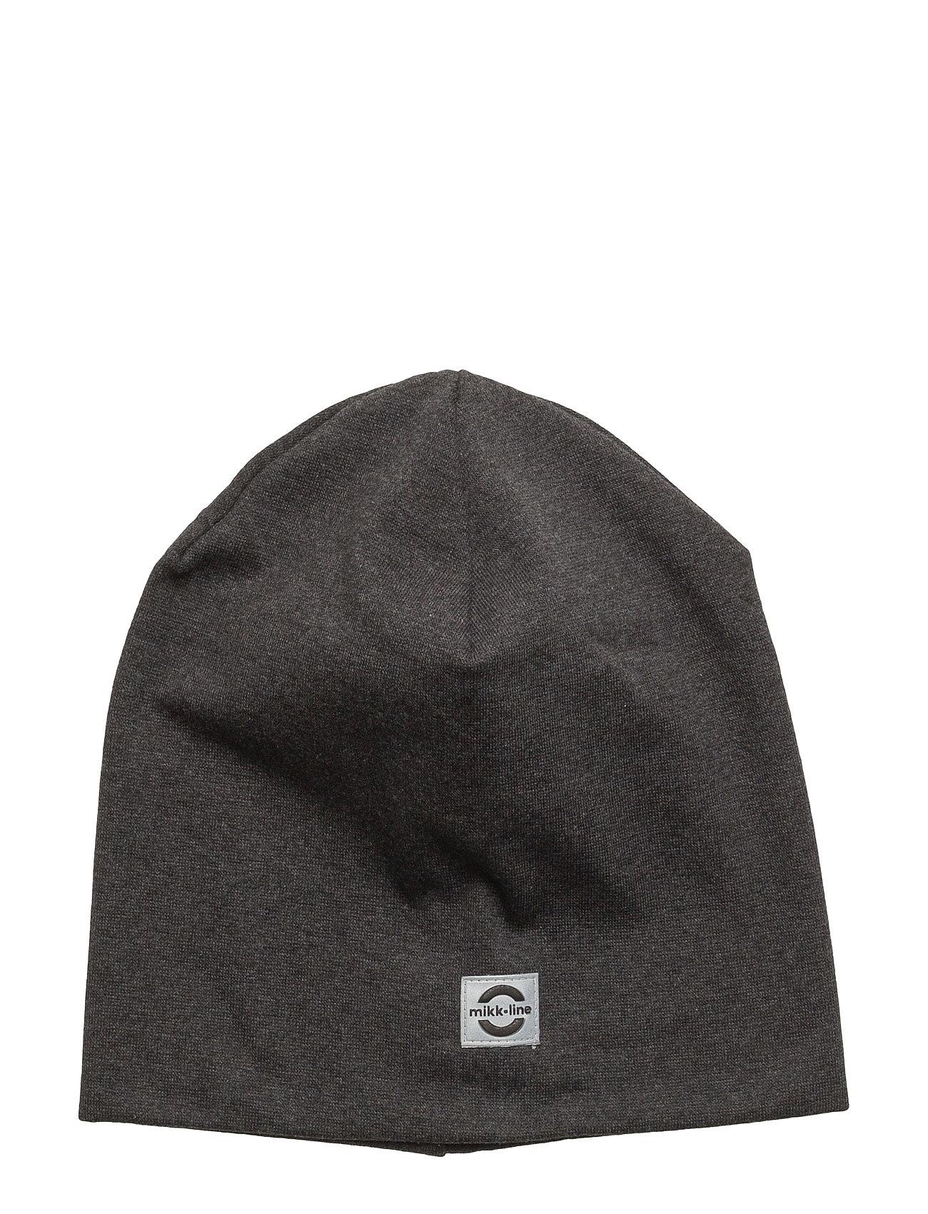 Image of Cotton Hat - Solid Hue Grå MIKK-LINE (2447293151)