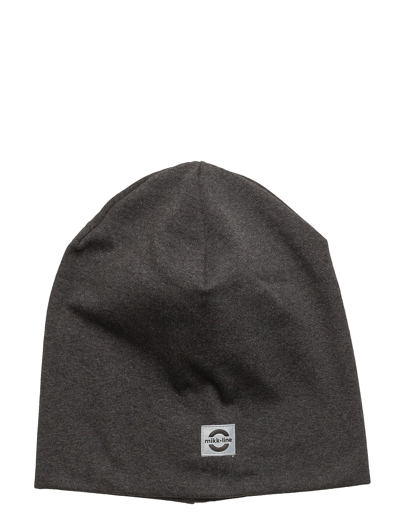 Image of Cotton Hat - Solid Accessories Headwear Hats Grå Mikk-Line (3406127937)