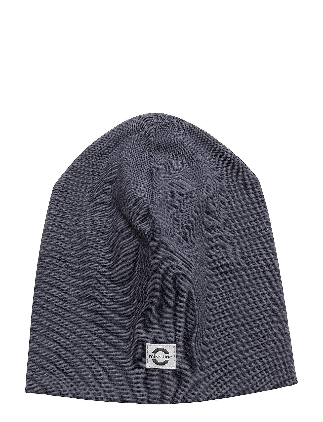 Image of Cotton Hat - Solid Hue Blå MIKK-LINE (3119379927)