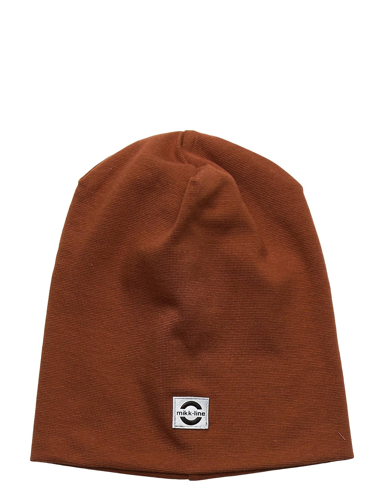 Image of Cotton Hat - Solid Accessories Headwear Hats Brun Mikk-Line (3406311233)
