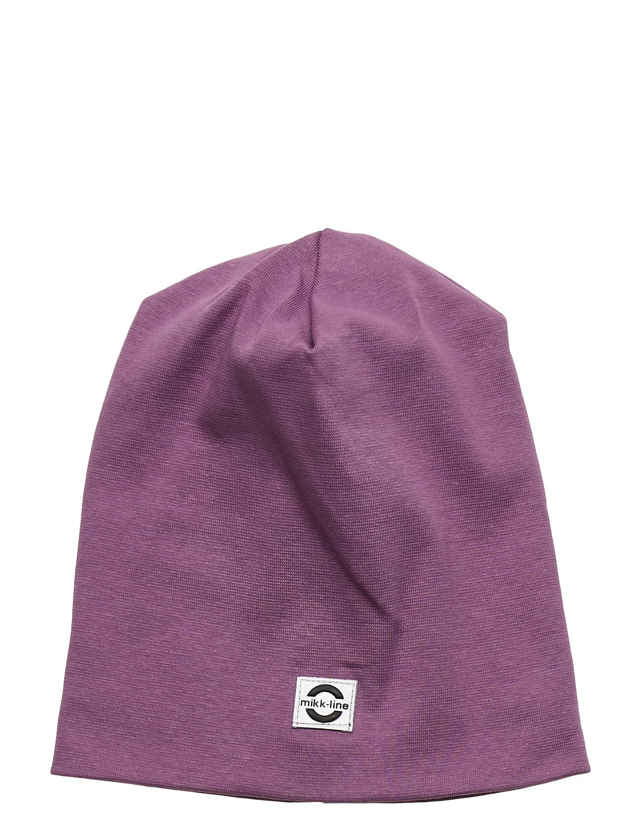 Image of Cotton Hat - Solid Accessories Headwear Hats Lilla Mikk-Line (3406311245)
