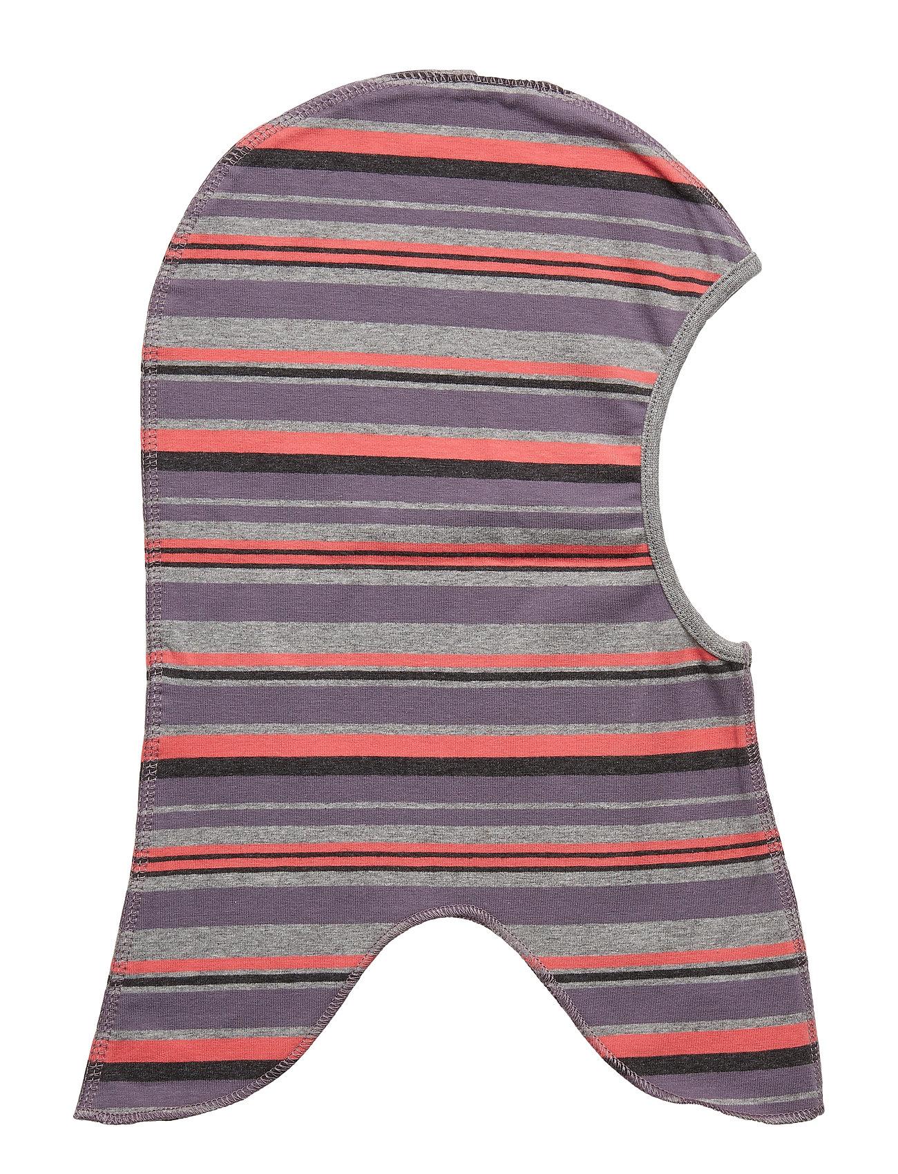Image of Cotton Fullface Multi Stribe Hat Multi/mønstret MIKK-LINE (3123913879)