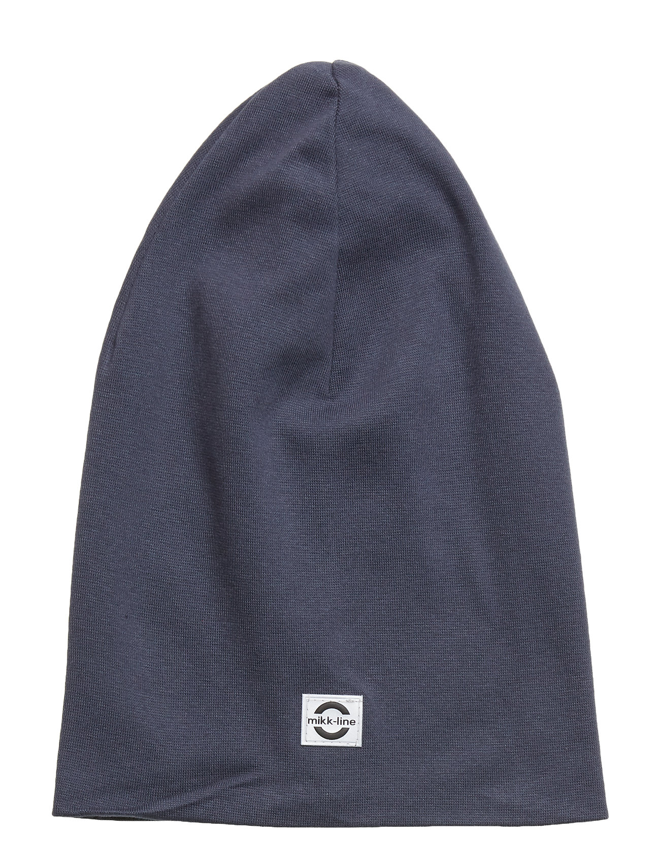 Image of Cotton Long Hat Accessories Headwear Hats Blå Mikk-Line (3406172917)