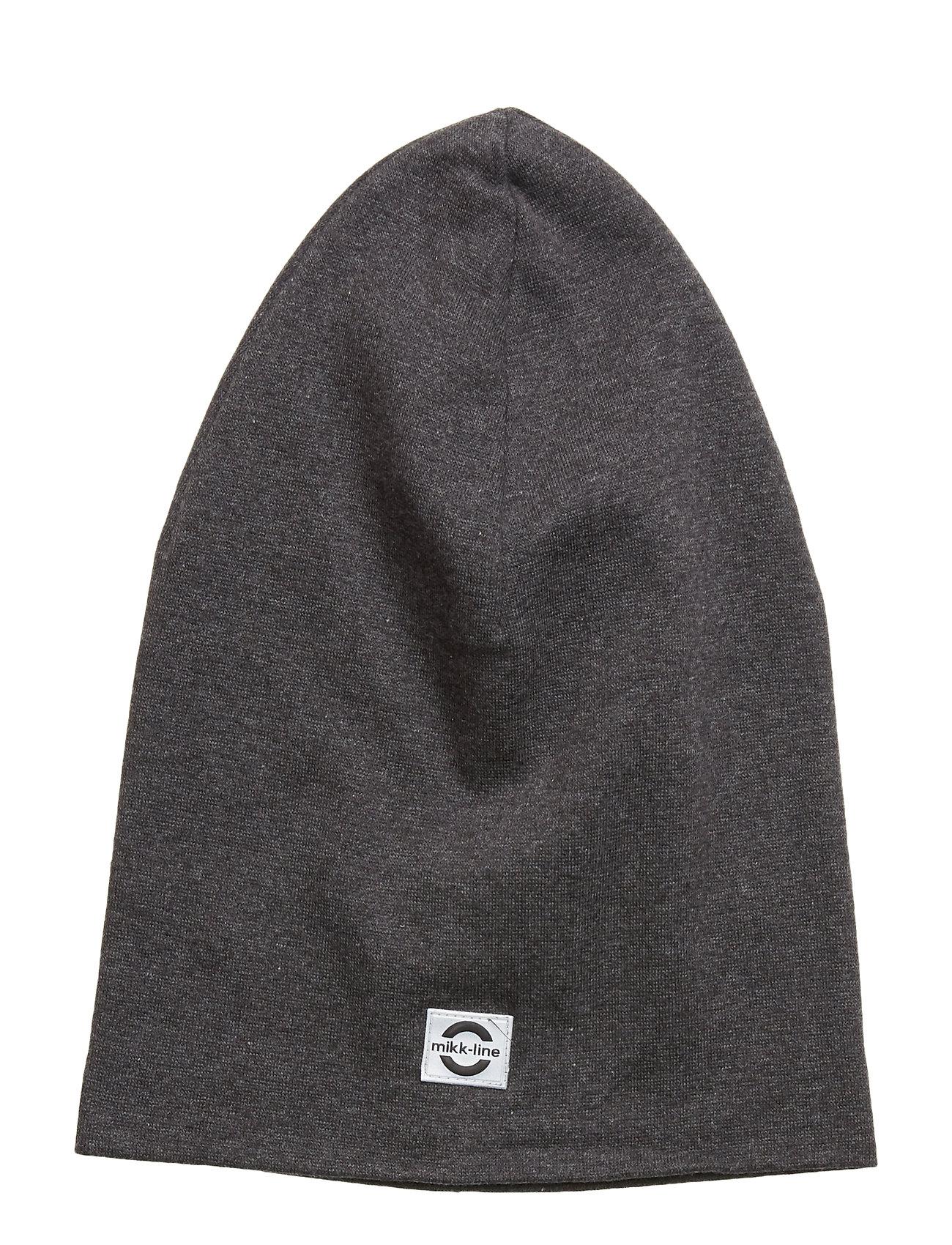 Image of Cotton Long Hat Accessories Headwear Hats Grå Mikk-Line (3406172915)
