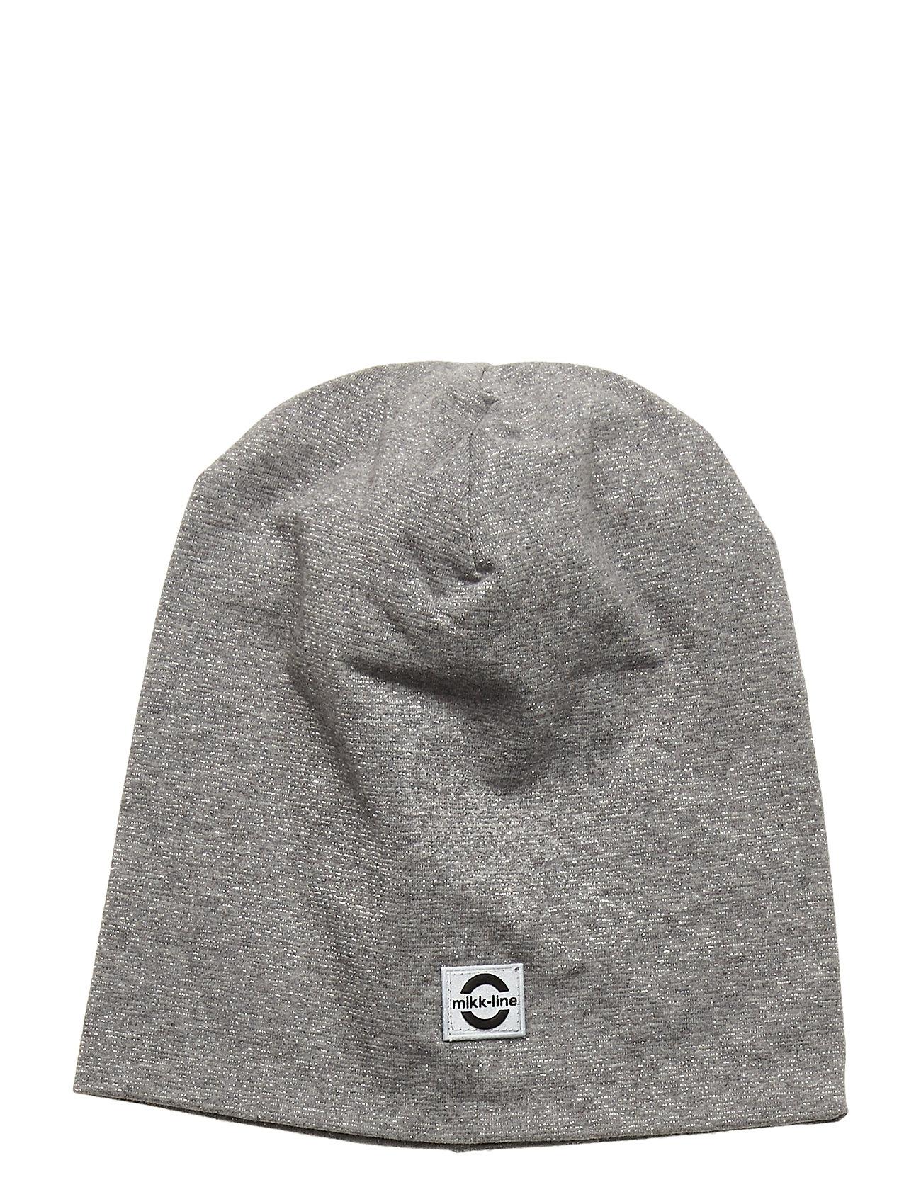 Image of Cotton Lurex Hat Accessories Headwear Hats Grå Mikk-Line (3406311261)