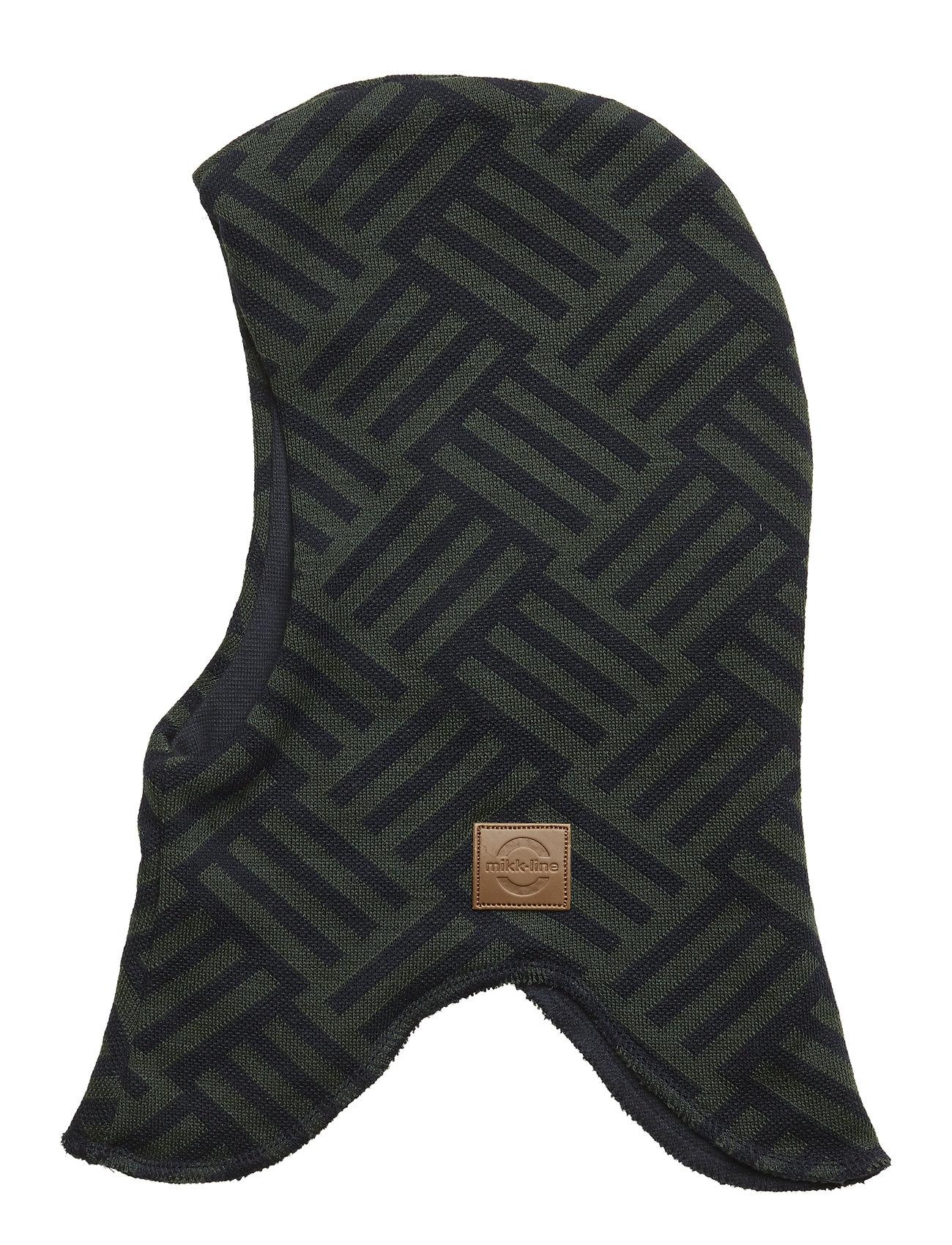 Wool Safety Fullface Accessories Headwear Balaclava Grøn Mikk-Line