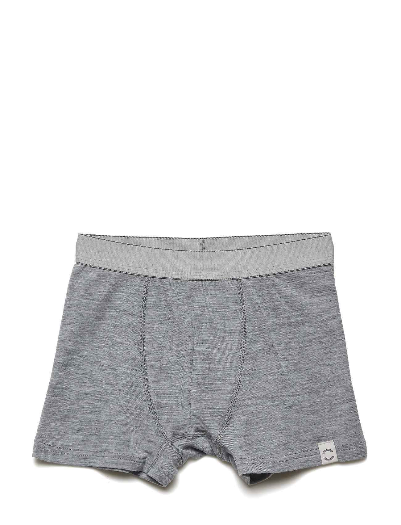 Mikk-Line WOOL Shorts Boys - PEARL GREY MELANGE