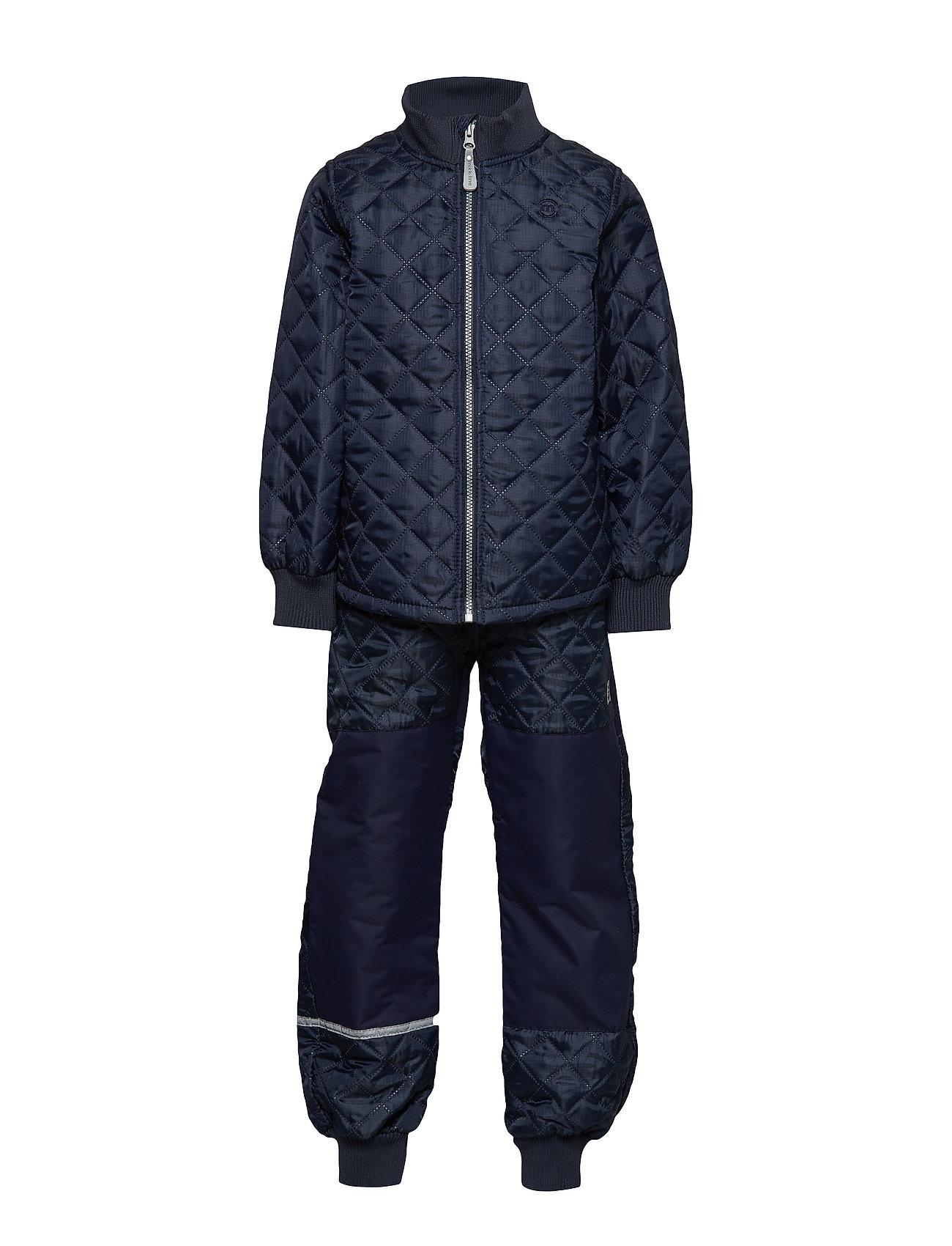 Mikk-Line THERMO Set - No Fleece - 286/DARK MARINE