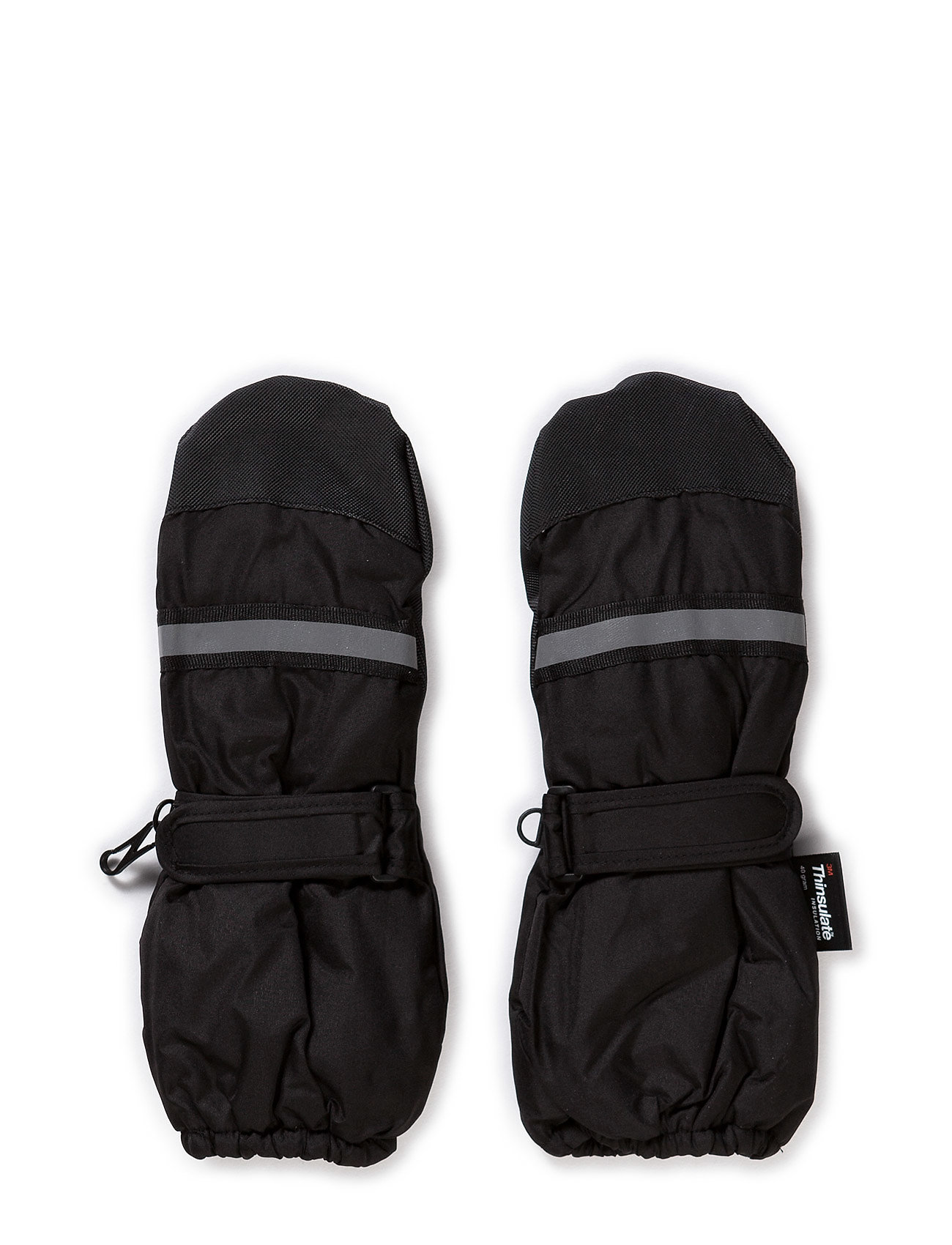 Mikk-Line THINSULATE mittens - BLACK