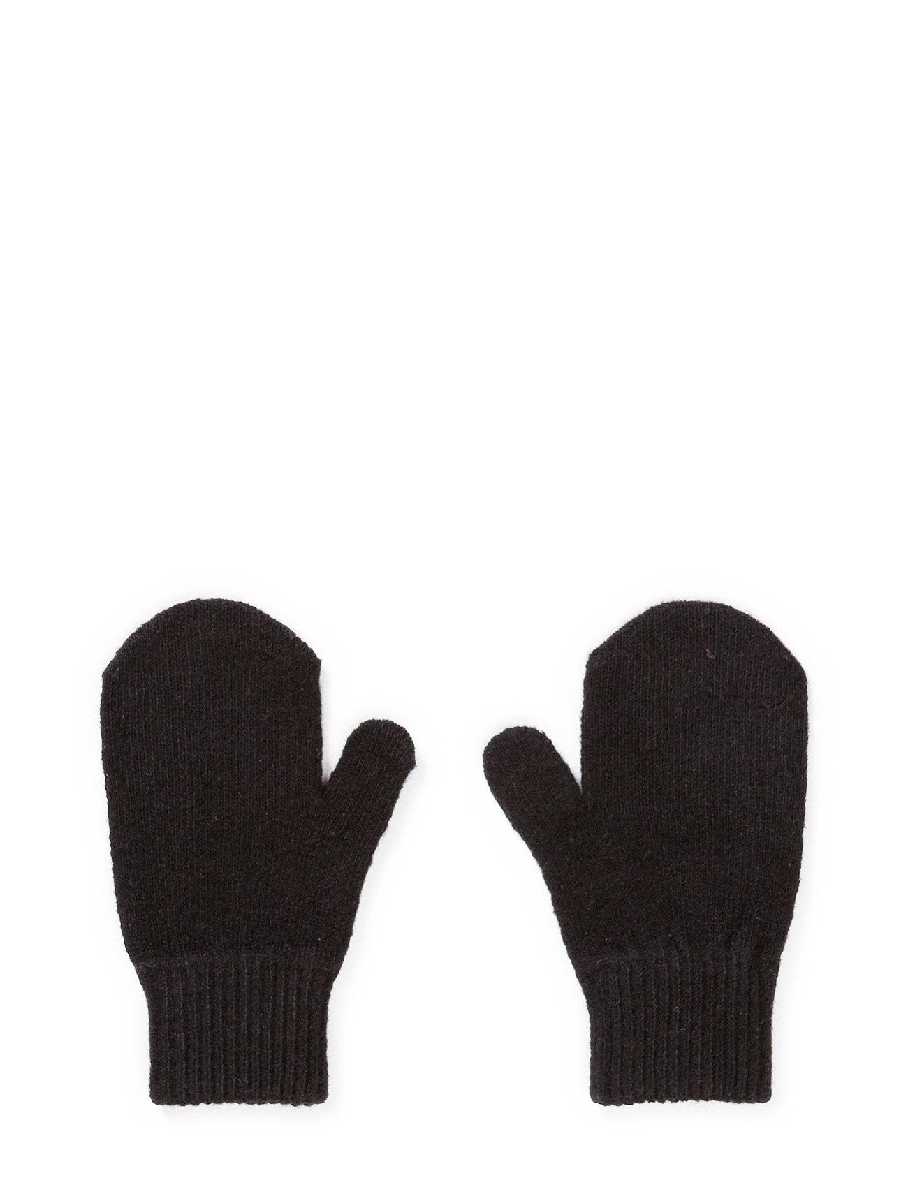 Mikk-Line Magic mittens - Knit - 190/Black