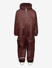 Mikk-Line - WINTER suit - snowsuit - puce brown - 0