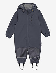 Mikk-Line - Softshell Boys Suit - bovenkleding - blue nights - 0