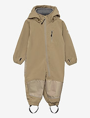 Softshell Boys Suit - COVERT GREEN