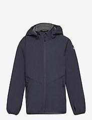 Mikk-Line - Softshell Boys Jacket - softshell jassen - blue nights - 0