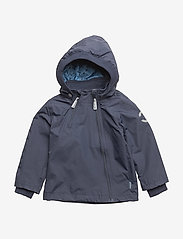 Mikk-Line - Nylon Baby Jacket - shell jacket - 287 blue nights - 0