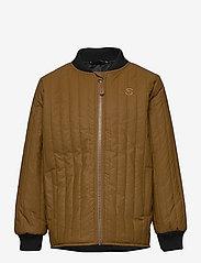 Mikk-Line - Duvet Boys Jacket - termojakke - rubber - 0